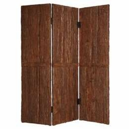 Tahoe Screen with Mountain Pine Bark Striped in Rustic Finish Brand Screen Gem