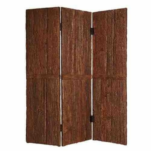 Tahoe Wood Screen, 3 Panel, Handmade, 62 Inch L x 72 Inch H Brand Screen Gems
