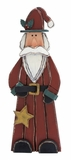 Lovely Wood Carved Santa Claus - 78622 by Benzara