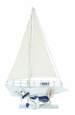Tall Ship Sail Boat with Marine Design - Great Coastal D�cor Brand Woodland