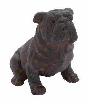 Tampere Bull Dog Beauteously Carved Aesthetic Artwork Brand Benzara