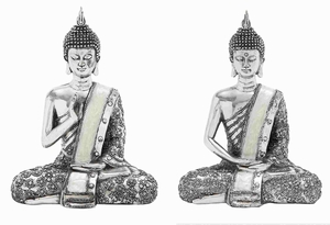 Tampere Sitting Buddha Traditionally Assorted Sculpture Brand Benzara