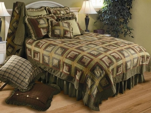 Tea Cabin Bed Ruffle Bed Skirt King Size New Brand C&F