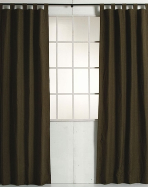 "Tea Cabin Curtains Set Of 2 Panels Each 40"" X 84"" Long Brand VHC"