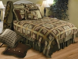 "Tea Cabin Euro Quilted Pillow 26"" X 26"" Brand VHC"