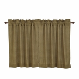 Tea Cabin Green Plaid Tier Set of 2 L36xW36 - 27086 by VHC Brands