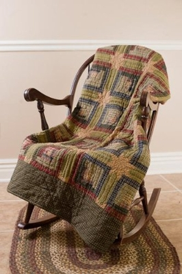 "Tea Cabin Throw Woven 50X60"" Brand VHC"