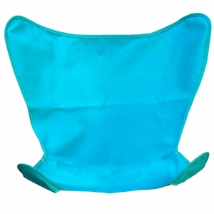Teal Colored Replacement Cover for Butterfly Chair by Alogma