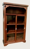 Teplice Bookcase, Creatively Etched Handsome Home Decor by D-Art
