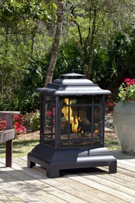 Teramo Patio Fireplace, Marvelous Plus Magnificent Heating Accessory by Well Travel Living