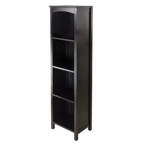 Terrace 5-Tier Espresso Finish Storage Shelf by Winsome Woods