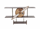 The Amazing Metal Wall Plane Decor by Woodland Import