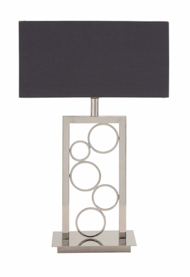 The Amazing Stainless Steel Table Lamp - 45476 by Benzara