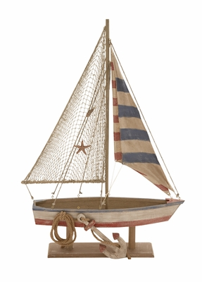 The Amazing Wood Rope Sailing Boat by Woodland Import