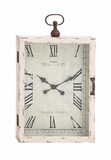 The Beautiful Wood Metal Wall Clock by Woodland Import