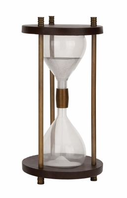 The Big Aluminum Sand Timer by Woodland Import