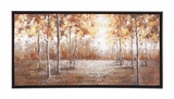 The Brilliant Wood Frame Canvas Art by Woodland Import