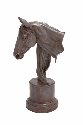The Classy Horse Sculpture by Woodland Import