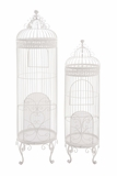 The Cool Set of 2 Metal Birdcage by Woodland Import