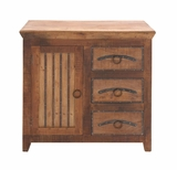 The Cool Wood 3 Drawer Chest by Woodland Import