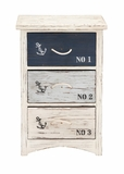 The Cool Wood Nautical Chest by Woodland Import