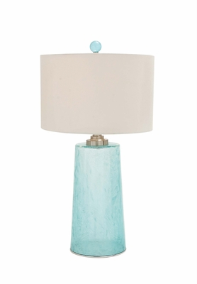 The Delicate Glass Table Lamp by Woodland Import