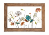 The Delightful Metal Wood Wall Decor by Woodland Import