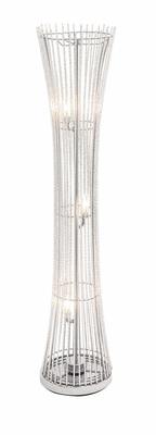 The Epitome Aluminum Floor Lamp by Woodland Import