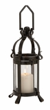 The Extraordinary Metal Glass Lantern by Woodland Import