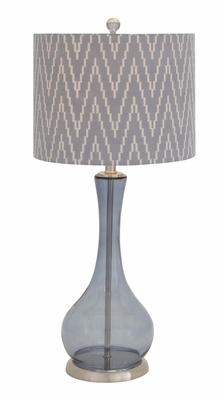 The Genie's Glass Metal Table Lamp by Woodland Import
