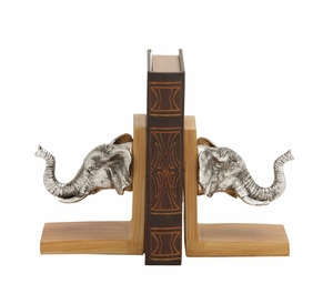 The Grand Elephant Bookend Pr by Woodland Import