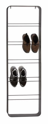 The Ingenious Metal Wall Shoe Rack by Woodland Import