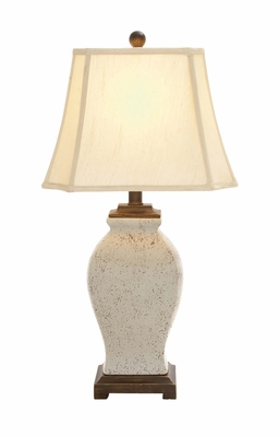 The Lovely Ceramic Table Lamp by Woodland Import
