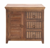 The Lovely Wood 3 Drawer Chest by Woodland Import
