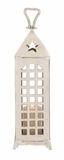The Midsized Aluminum Lantern by Woodland Import
