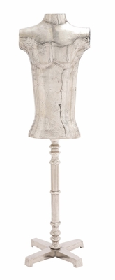 The Perfect Aluminum Mannequin Stand by Woodland Import
