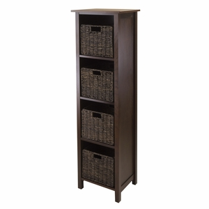 The Perfect Granville 5pc Storage Shelf That Suits Any Corner Of Your Home by Winsome Woods