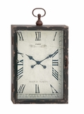 The Ravishing Wood Metal Wall Clock by Woodland Import