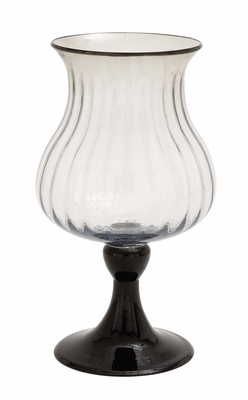 The Rich Glass Candle Holder by Woodland Import