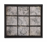 The Rustic Metal Wall Decor by Woodland Import