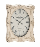 The Rustic Wall Clock by Woodland Import