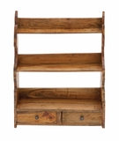 The Simple Wood Wall Shelf by Woodland Import
