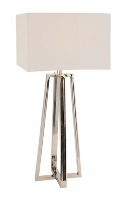 The Slick Stainless Steel Table Lamp by Woodland Import