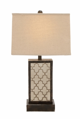 The Slick Wood Table Lamp - 60113 by Benzara