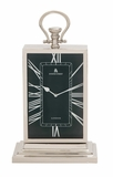 The Stunning Metal Table Clock by Woodland Import