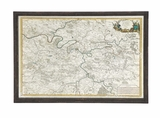 The Ultra Cool Wood Glass Wall Map Decor by Woodland Import