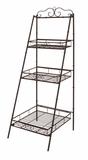 The Useful Metal 3 Tier Shelf by Woodland Import