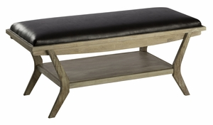 Thick and Comfortable Onslow Bench by Cooper Classics