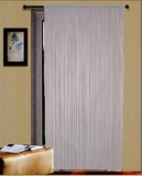 "Thread Curtain White 55"" Wide X 84"" Long: Elegant And Simple Brand Kashi"