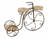 Three Shelf Tricycle Planter Stand For Your Plants Brand Woodland